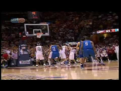 LeBron's Last-Second Shot Wins over Magic Video
