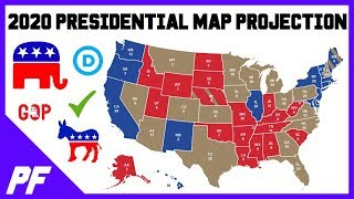 My First 2020 Presidential Electoral College Map Projection Election Predictions - June 2019