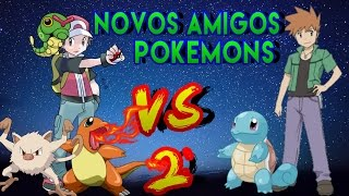Pokémon Game Boy Advance /Version Fire Red/Pokémon Fire Red Briga De Novo e Novos Amigos Pokémons