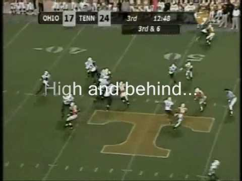 WR Taylor Price vs Tennessee Volunteers 2009 Video