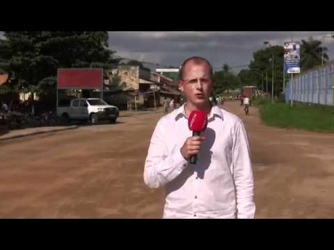 Motos - Reportero a punto de ser atropellado