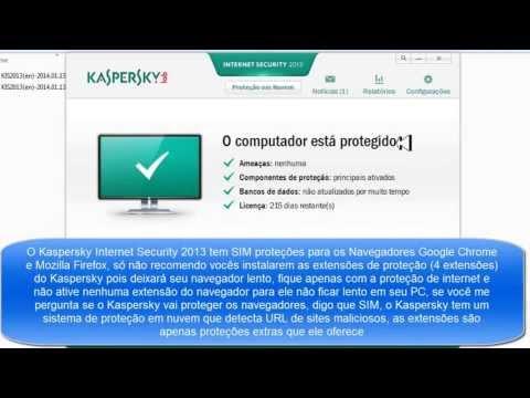 Instalando e Ativando Kaspersky Internet Security 2013 l 100% Licenciado l SEM ERRO.