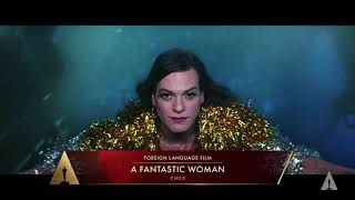 """A Fantastic Woman"" wins Best Foreign Language Film"