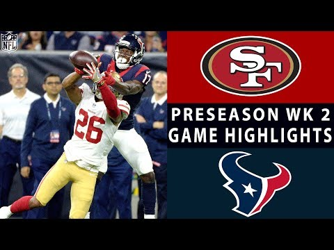 49ers vs. Texans Highlights  NFL 2018 Preseason Week 2