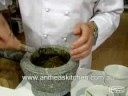 Thai Green Curry Paste using Mortar & Pestle