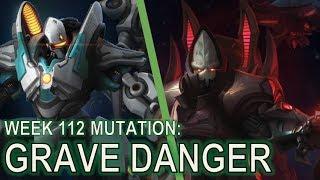 Starcraft II Co-Op Mutation #112: Grave Danger [CONSERVING My Forces]