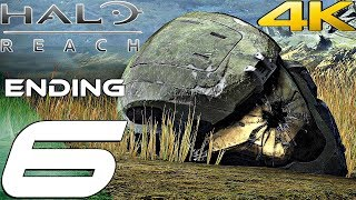 HALO REACH (PC) - Gameplay Walkthrough Part 6 - Ending & Final Mission (4K 60FPS)