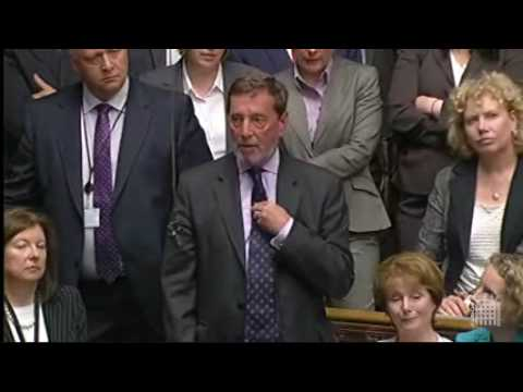 Angus Robertson and David Blunkett make statements in the House of Commons, 18 May 2010