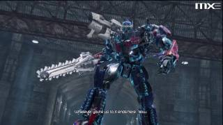 Transformers Dark of the Moon - Megatron vs Optimus Prime