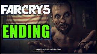 Far Cry 5 ENDING - The Father Death Scene John Seed Death
