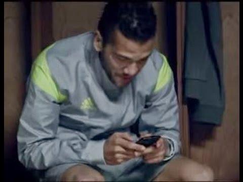 Messi Responde ao Daniel Alves - O bicho vai pegar aqui no Brasil? Comercial Adidas Copa 2014