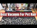 Best Vacuum For Pet Hair & Allergies TESTS   Dyson Vs Shark Vs Bissell Vs Sebo