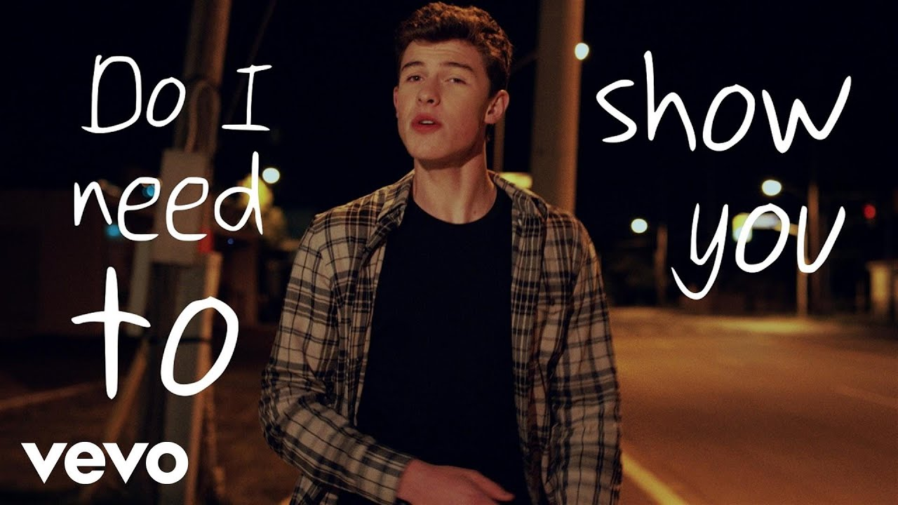 shawn mendes   show you   youtube