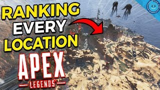 Ranking and Explaining Every Map Location and Loot Zone In Apex Legends!