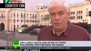 Clancy Quits: Veteran US TV journo leaves CNN after Twitter rant on Israel