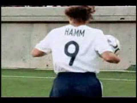 Mia Hamm - Soccer Mix Video
