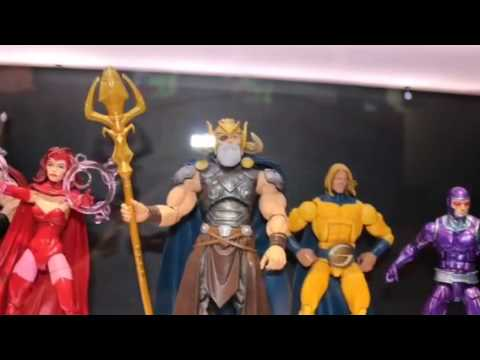 Marvel Legends NEW Scarlet Witch,Odin BAF