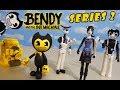 Bendy and the Ink Machine Action Figures SERIES 2 BATIM PhatMojo Chapter 5!