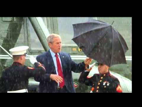 Obama Umbrella Singin In The Rain