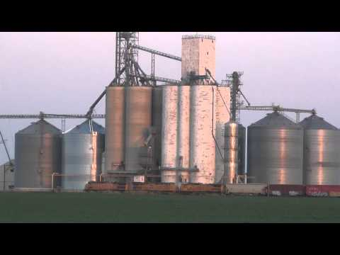 Union Pacific manifest at ethanol plant, Nevada, Iowa