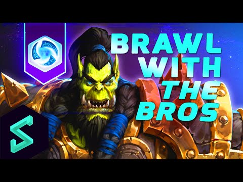 Heroes of the Storm Gameplay | Brawl With The Bros 19 | MFPallytime & Hengest | Heroes of the Storm