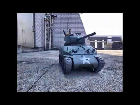 MATO M4A1(76)W Sherman RC Tank