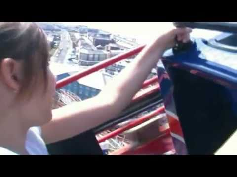 Extreme Jess does The Pepsi Max Big One in Blackpool on Board Footage Roller Coaster