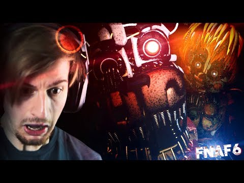 VINTAGE ANIMATRONICS!? THIS IS INCREDIBLE. || Five Nights At Freddy's 6 (Part 1) thumbnail