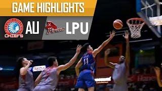 AU vs LPU| Game Highlights | NCAA 92 - September 6, 2016