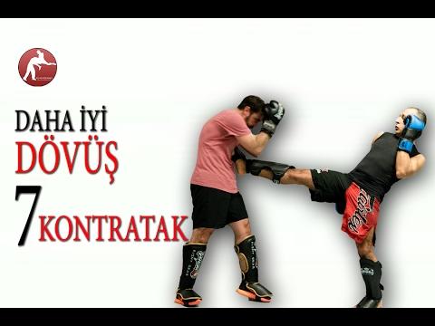 Daha İyi Dövüşmek İçin 7 Kontratak Kombinasyonu -   Kick Boks Antrenman Nakavt Teknikleri