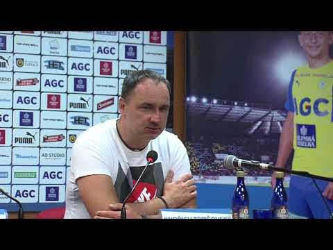Tisková konference Jindřicha Trpišovského po zápase Teplice - Liberec (29.9.2017)
