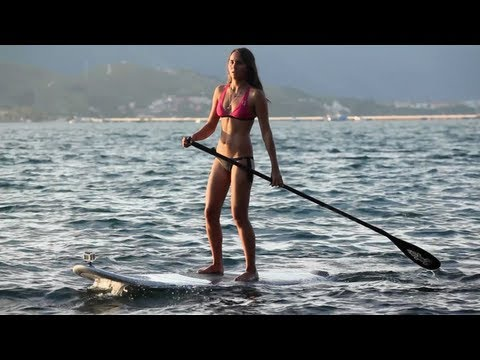 Meet Freestyle Kiteboarding Prodigy – Bruna Kajiya 2012