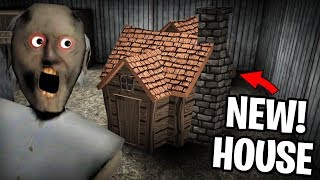 WE BUILD A NEW HOUSE IN GRANNY'S BACK YARD! Granny Android Free Game