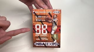 Panini 2018-19 NBA Hoops Basketball Cards Unboxing