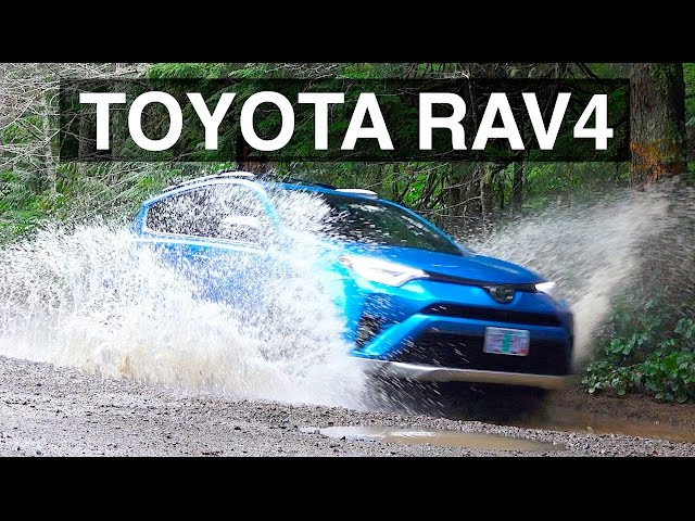 2016 Toyota Rav4 AWD - Review & Offroad Test Drive - YouTube