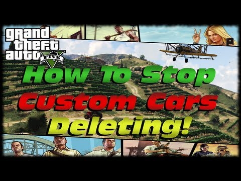 GTA 5 How To Stop Custom Cars, Trucks & Aircraft From Deleting In Your Playthrough!