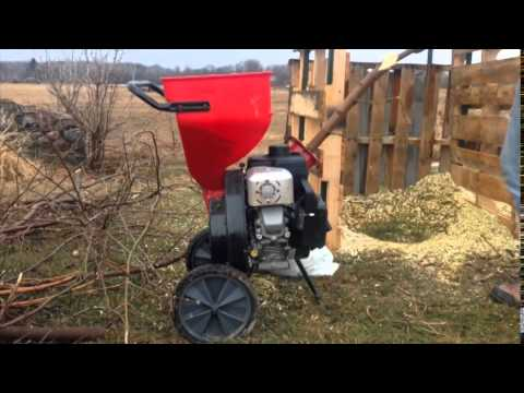 Earthquake 9060300 205CC Chipper Shredder Review