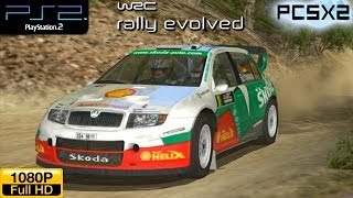 WRC Rally Evolved - PS2 Gameplay (Škoda Fabia WRC)  1080p part 1 (PCSX2)