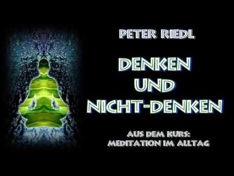Denken und Nicht Denken - Peter Riedl