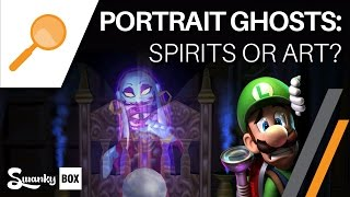 Luigi's Mansion - What are the Portrait Ghosts? (Mario Bros Theory) | SwankyBox