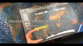 Category Satellite Puzzle - Ravensburger satellite world map puzzle