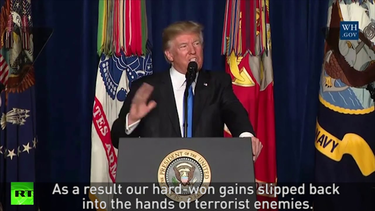 Trump U-turns on US troops in Afghanistan