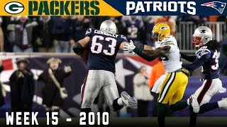 A Sunday Night That Sparked a Super Bowl Run! (Packers vs. Patriots, 2010) | NFL Vault Stories