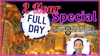 🎉 2HR Slotiday Special ✦ Learn what Brian plays in a whole day at the Casino! ✦ San Manuel Casino
