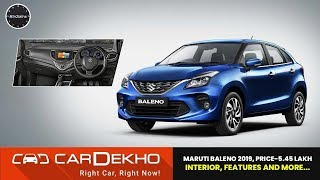 Maruti Baleno 2019 Facelift Price -Rs 5.45 lakh | New looks, interior, features and more! | #In2Mins
