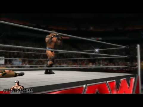 WWE Summerslam 2013 Randy Orton cash in Money in the Bank & wins WWE Championship! (WWE 13)