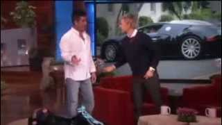 Simon Cowell's Incredible Car on Ellen show