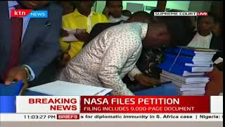 BREAKING NEWS : NASA files petition to challenge presidential election results.