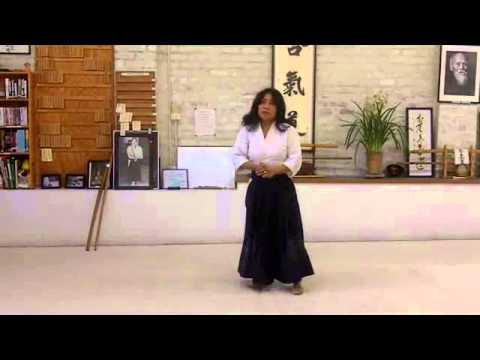 Kokyuwaza Riai with Bokken & Jo Aikido training weapons  Ginny Breeland Image 1