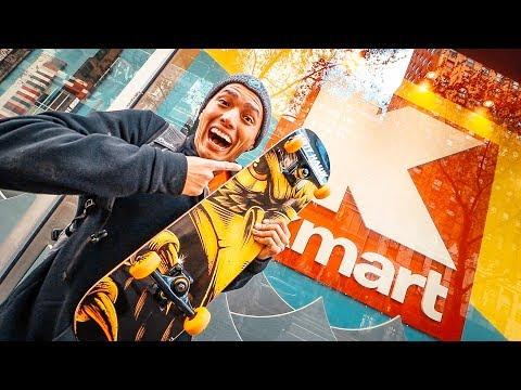I BOUGHT K MART'S LAST SKATEBOARD!!